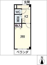 メイプル タウン[2階]の間取り