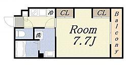 リブリH・Y・S[3階]の間取り