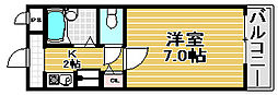 3C NEST OTORI[405号室]の間取り