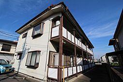 コーポ白楊[2階]の外観