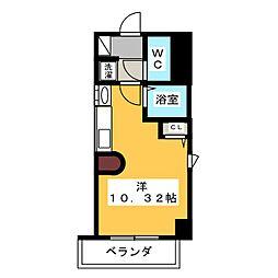 ファンタジア21[4階]の間取り