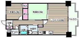 北梅田パーク・レジデンス[5階]の間取り