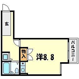 ベルトピア西宮北口I[1階]の間取り