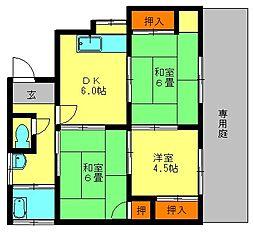 [一戸建] 福岡県春日市春日10丁目 の賃貸【/】の間取り
