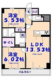 S-FORT船橋塚田[101号室]の間取り