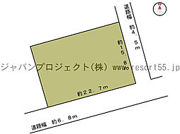 バケイションランド桜台 標高約600m 南側角地 幅6m以上