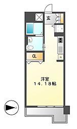 レジディア東桜II[7階]の間取り
