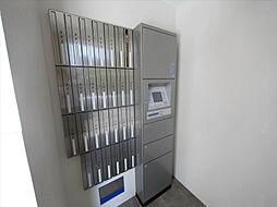 トンシェトアの宅配BOX 不在時に荷物を受け取ることができます