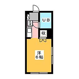 ビバルディ[1階]の間取り