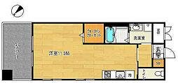 サムティ三宮レガニール[3階]の間取り