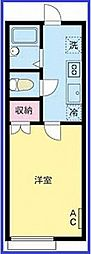 東京都江戸川区一之江3丁目の賃貸アパートの間取り