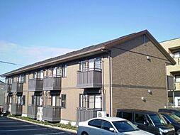 富山県富山市天正寺の賃貸アパートの外観
