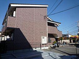 大阪府大阪狭山市茱萸木3丁目の賃貸アパートの外観