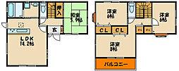 [タウンハウス] 兵庫県明石市大久保町大窪 の賃貸【兵庫県 / 明石市】の間取り