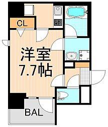 東京都台東区浅草6丁目の賃貸マンションの間取り