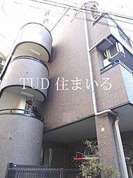 東京都豊島区西巣鴨3の賃貸マンションの外観