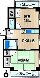 第二吉田ビル[2階]の間取り