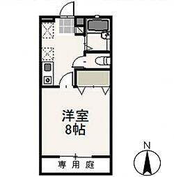 アドバンスSugiyama[101号室号室]の間取り