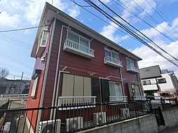 千葉県成田市新町の賃貸アパートの外観