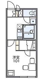 RTフォーブル[2階]の間取り