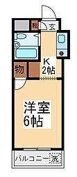 ウィンベルソロ朝霞第1[3階]の間取り