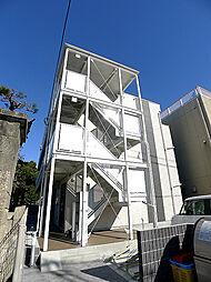 埼玉県越谷市中町の賃貸マンションの外観