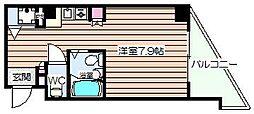 エムロード福島[2階]の間取り