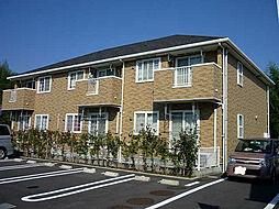 鹿児島県南さつま市加世田武田の賃貸アパートの外観