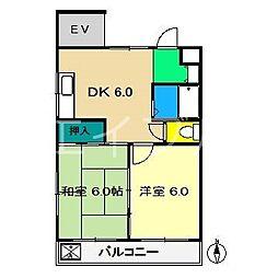 森山ビル[3階]の間取り