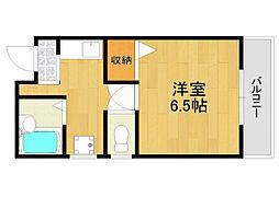 M'STYLE武庫之荘2[2階]の間取り