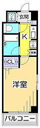 CITY SPIRE国分寺[4階]の間取り