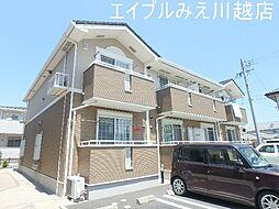 三重県四日市市大字茂福の賃貸アパートの外観