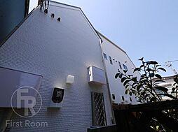 東京都品川区中延5の賃貸アパートの外観