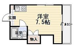 徳廣マンション[3階]の間取り