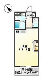 福岡県北九州市小倉北区熊本1丁目の賃貸マンションの間取り