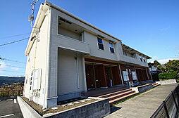 鹿児島県指宿市十二町の賃貸アパートの外観