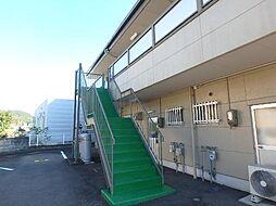 岐阜県関市市平賀の賃貸アパートの外観