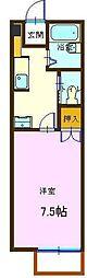 ルミナス祇園II[202号室]の間取り