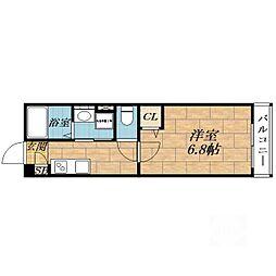 トワ・エ・モア[2階]の間取り