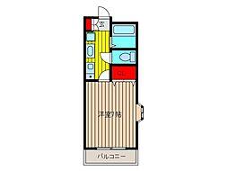 フラットパル[2階]の間取り