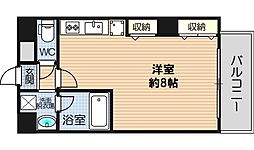 大阪府大阪市西区土佐堀3丁目の賃貸マンションの間取り