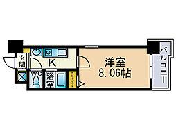 エンクレスト赤坂壱番館[5階]の間取り