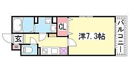KTIレジデンス神戸元町[303号室]の間取り