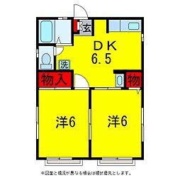 ソファレ升本[2階]の間取り