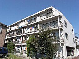 東京都青梅市野上町3丁目の賃貸マンションの外観