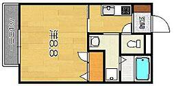 アーベルハイム[1階]の間取り