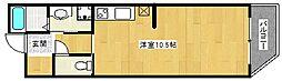カドモト三国ヶ丘[2階]の間取り