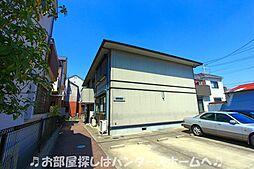 大阪府枚方市渚栄町の賃貸アパートの外観