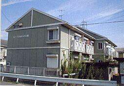 滋賀県野洲市吉地2丁目の賃貸アパートの外観