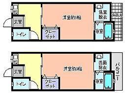 レジデンス木[2階]の間取り